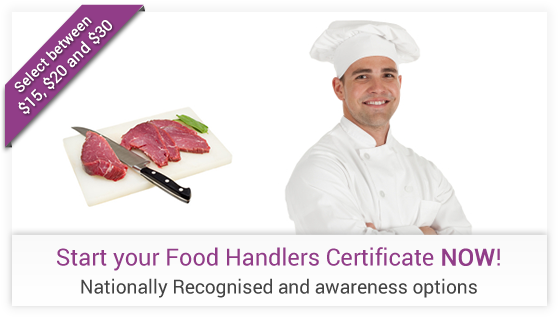 Food Handling Training Course Online